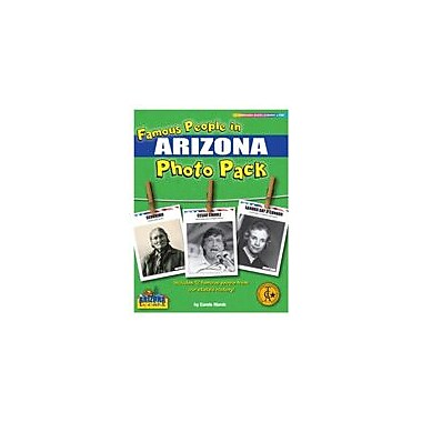 Gallopade International Famous People From Arizona Photo Pack Social Studies Workbook, Grade 1 - Grade 8 [eBook]
