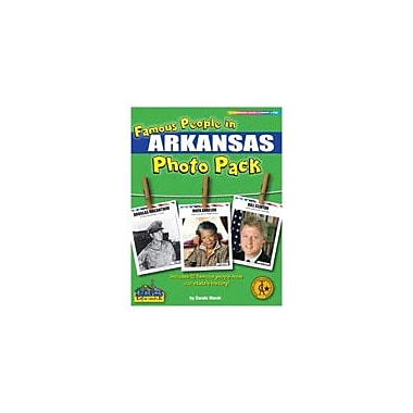 Gallopade International Famous People From Arkansas Photo Pack Social Studies Workbook, Grade 1 - Grade 8 [eBook]