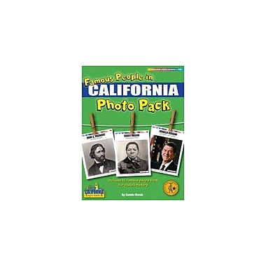 Gallopade International Famous People From California Photo Pack Social Studies Workbook, Grade 1 - Grade 8 [eBook]