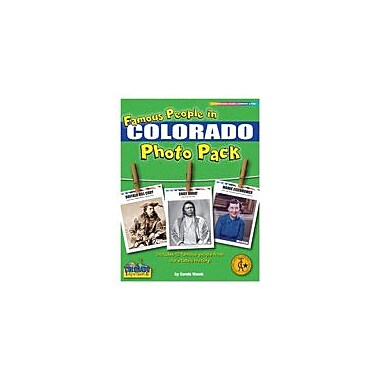 Gallopade International Famous People From Colorado Photo Pack Social Studies Workbook, Grade 1 - Grade 8 [eBook]