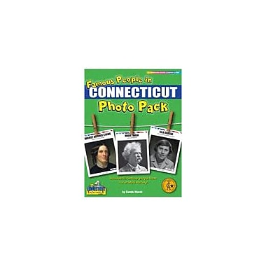 Gallopade International Famous People From Connecticut Photo Pack Social Studies Workbook, Grade 1 - Grade 8 [eBook]