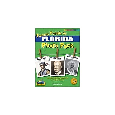 Gallopade International Famous People From Florida Photo Pack Social Studies Workbook, Grade 1 - Grade 8 [eBook]