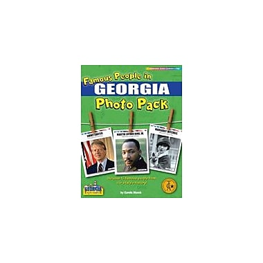 Gallopade International Famous People From Georgia Photo Pack Social Studies Workbook, Grade 1 - Grade 8 [eBook]