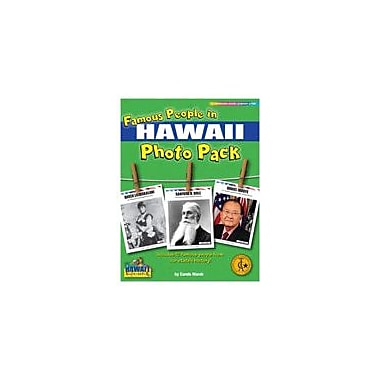 Gallopade International Famous People From Hawaii Photo Pack Social Studies Workbook, Grade 1 - Grade 8 [eBook]