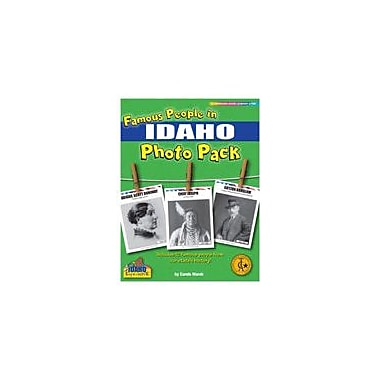 Gallopade International Famous People From Idaho Photo Pack Social Studies Workbook, Grade 1 - Grade 8 [eBook]