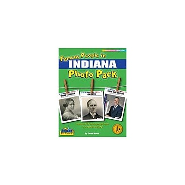 Gallopade International Famous People From Indiana Photo Pack Social Studies Workbook, Grade 1 - Grade 8 [eBook]