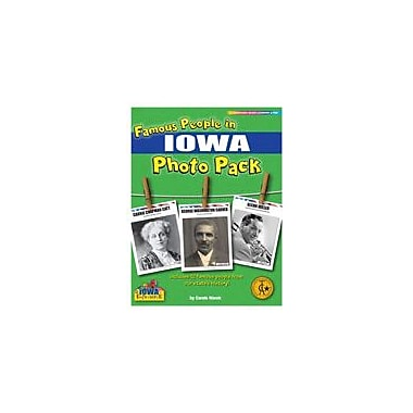 Gallopade International Famous People From Iowa Photo Pack Social Studies Workbook, Grade 1 - Grade 8 [eBook]