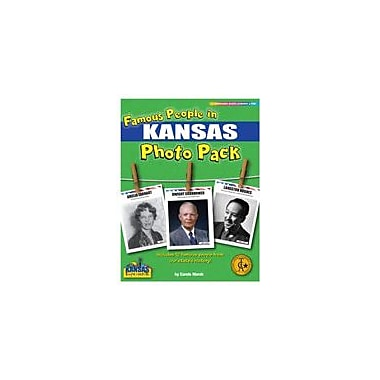 Gallopade International Famous People From Kansas Photo Pack Social Studies Workbook, Grade 1 - Grade 8 [eBook]