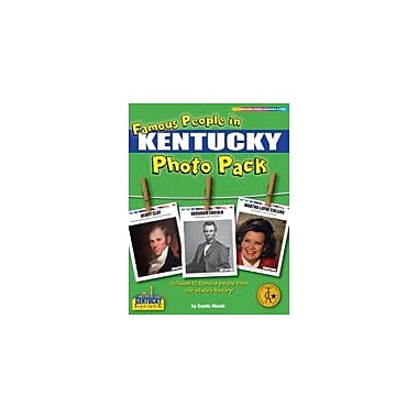 Gallopade International Famous People From Kentucky Photo Pack Social Studies Workbook, Grade 1 - Grade 8 [eBook]