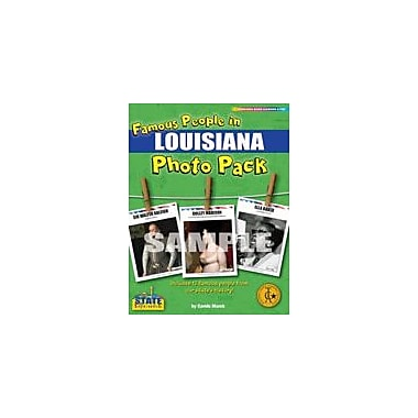 Gallopade International Famous People From Louisiana Photo Pack Social Studies Workbook, Grade 1 - Grade 8 [eBook]