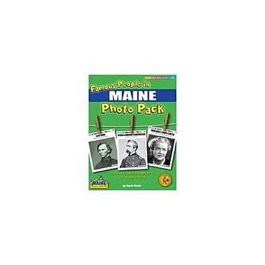 Gallopade International Famous People From Maine Photo Pack Social Studies Workbook, Grade 1 - Grade 8 [eBook]