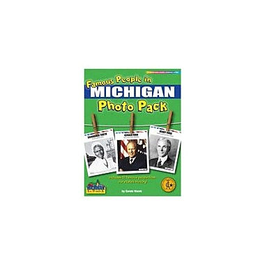 Gallopade International Famous People From Michigan Photo Pack Social Studies Workbook, Grade 1 - Grade 8 [eBook]