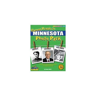 Gallopade International Famous People From Minnesota Photo Pack Social Studies Workbook, Grade 1 - Grade 8 [eBook]