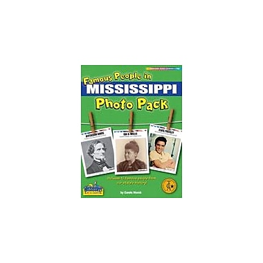 Gallopade International Famous People From Mississippi Photo Pack Social Studies Workbook, Grade 1 - Grade 8 [eBook]
