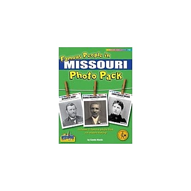 Gallopade International Famous People From Missouri Photo Pack Social Studies Workbook, Grade 1 - Grade 8 [eBook]
