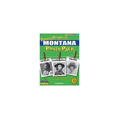 Gallopade International Famous People From Montana Photo Pack Social Studies Workbook, Grade 1 - Grade 8 [eBook]