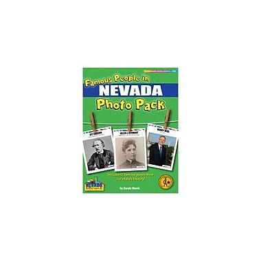Gallopade International Famous People From Nevada Photo Pack Social Studies Workbook, Grade 1 - Grade 8 [eBook]