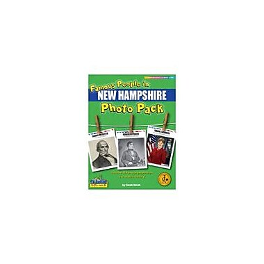 Gallopade International Famous People From New Hampshire Photo Pack Social Studies Workbook, Grade 1 - Grade 8 [eBook]