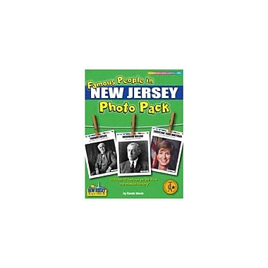Gallopade International Famous People From New Jersey Photo Pack Social Studies Workbook, Grade 1 - Grade 8 [eBook]