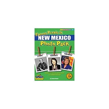 Gallopade International Famous People From New Mexico Photo Pack Social Studies Workbook, Grade 1 - Grade 8 [eBook]