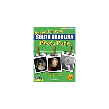 Gallopade International Famous People From South Carolina Photo Pack Social Studies Workbook, Grade 1 - Grade 8 [eBook]