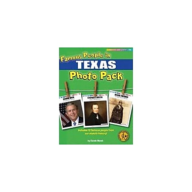 Gallopade International Famous People From Texas Photo Pack Social Studies Workbook, Grade 1 - Grade 8 [eBook]