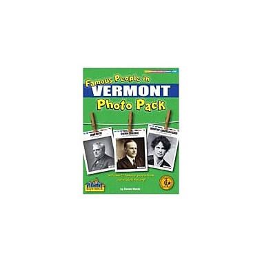 Gallopade International Famous People From Vermont Photo Pack Social Studies Workbook, Grade 1 - Grade 8 [eBook]
