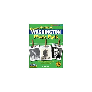 Gallopade International Famous People From Washington Photo Pack Social Studies Workbook, Grade 1 - Grade 8 [eBook]