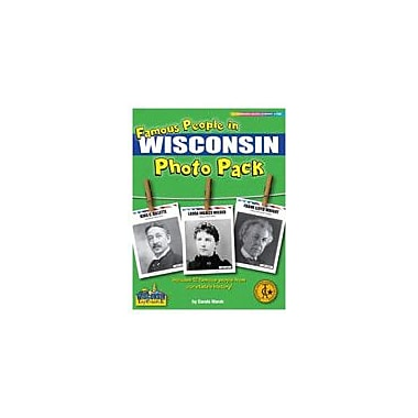 Gallopade International Famous People From Wisconsin Photo Pack Social Studies Workbook, Grade 1 - Grade 8 [eBook]