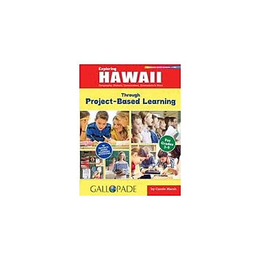 Gallopade International Exploring Hawaii Through Project-Based Learning Problem Solving Workbook, Grade 3 - Grade 5 [eBook]