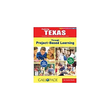 Gallopade International Exploring Texas Through Project-Based Learning Problem Solving Workbook, Grade 3 - Grade 5 [eBook]