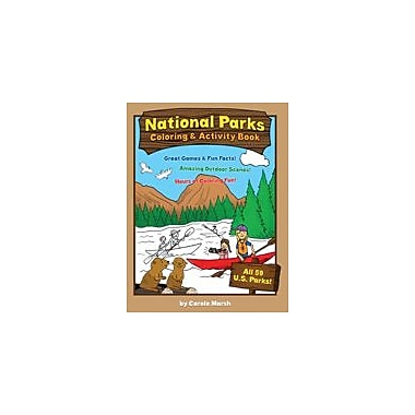 Gallopade International America's National Parks Coloring and Activity Book Social Studies Workbook, Grade 1 - Grade 4 [eBook]