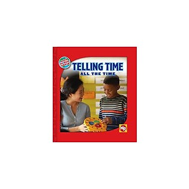 Gareth Stevens Publishing Telling Time All the Time Math Workbook, Grade 1 - Grade 4 [eBook]