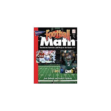 Good Year Books Football Math (Second Edition) Math Workbook, Grade 4 - Grade 8 [eBook]