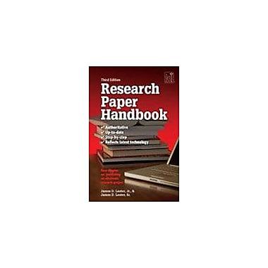Good Year Books The Research Paper Handbook Reading & Writing Workbook, Grade 6 - Grade 12 [eBook]