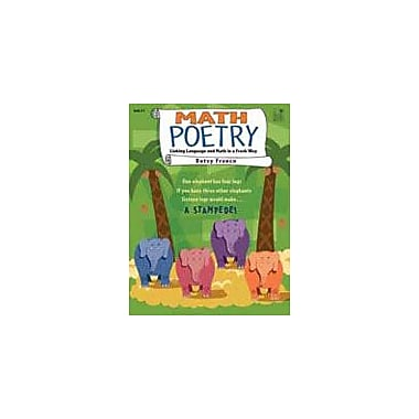 Good Year Books Math Poetry: Linking Language and Math In A Fresh Way Math Workbook, Grade 2 - Grade 5 [eBook]