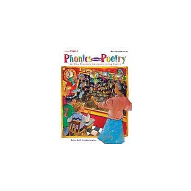 Good Year Books Phonics Through Poetry: Teaching Phonemic Awareness Using Poetry Workbook, Preschool - Grade 2 [eBook]