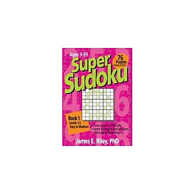 Good Year Books Super Sudoku Book 1 Puzzles Workbook, Grade 4 - Grade 12 [eBook]