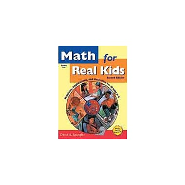 Good Year Books Math For Real Kids: Problems, Applications, and Activities For Grades 5-8 Workbook, Grade 5 - Grade 8 [eBook]