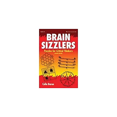 Good Year Books Brain Sizzlers: Puzzles For Critical Thinkers Puzzles Workbook, Grade 4 - Grade 8 [eBook]
