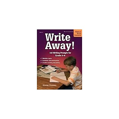 Good Year Books Write Away! 140 Writing Prompts for Grades 4-6 Reading & Writing Workbook, Grade 4 - Grade 6 [eBook]