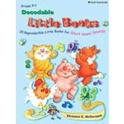 Good Year Books - Decodable Little Books : 20 Reproducible Little Books For Short Vowel Sounds, 4e année à sec. 2 [numérique]