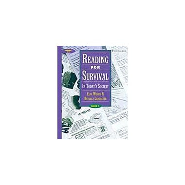 Good Year Books Reading For Survival: In Today's Society, Book 1 Reading & Writing Workbook, Grade 6 - Grade 9 [eBook]