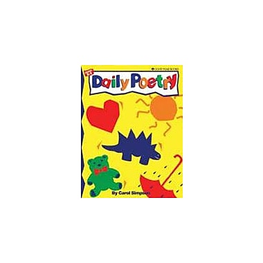 Good Year Books Daily Poetry Reading & Writing Workbook, Kindergarten - Grade 3 [eBook]