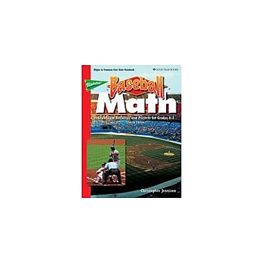 Good Year Books Baseball Math: Grandslam Activities and Projects For Grades 4-8 Math Workbook, Grade 4 - Grade 8 [eBook]