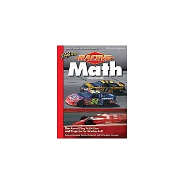 Good Year Books Racing Math: Checkered Flag Activities and Projects For Grades 4-8 Math Workbook, Grade 4 - Grade 8 [eBook]