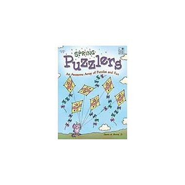 Good Year Books Spring Puzzlers Puzzles Workbook, Grade 4 - Grade 6 [eBook]
