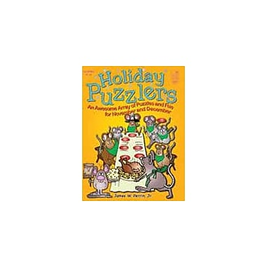 Good Year Books Holiday Puzzlers Social Studies Workbook, Grade 4 - Grade 6 [eBook]