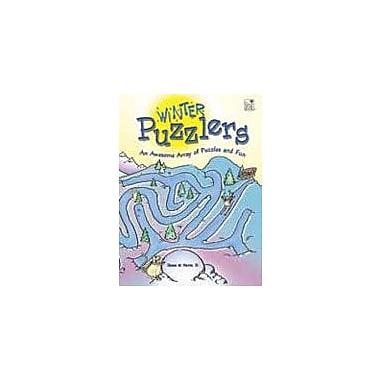 Good Year Books Winter Puzzlers Puzzles Workbook, Grade 4 - Grade 6 [eBook]