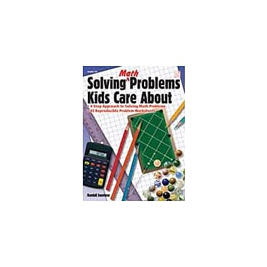 Good Year Books Solving Math Problems Kids Care About Math Workbook, Grade 4 - Grade 8 [eBook]